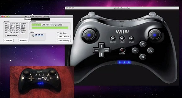 how to connect wii u pro controller to pc