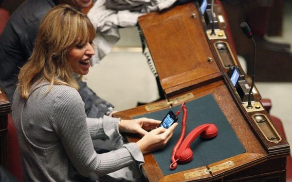 20 milioni di euro per le telefonate dei parlamentari for I parlamentari italiani