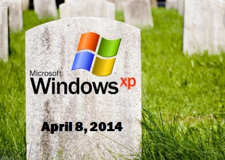 Addio Windows XP