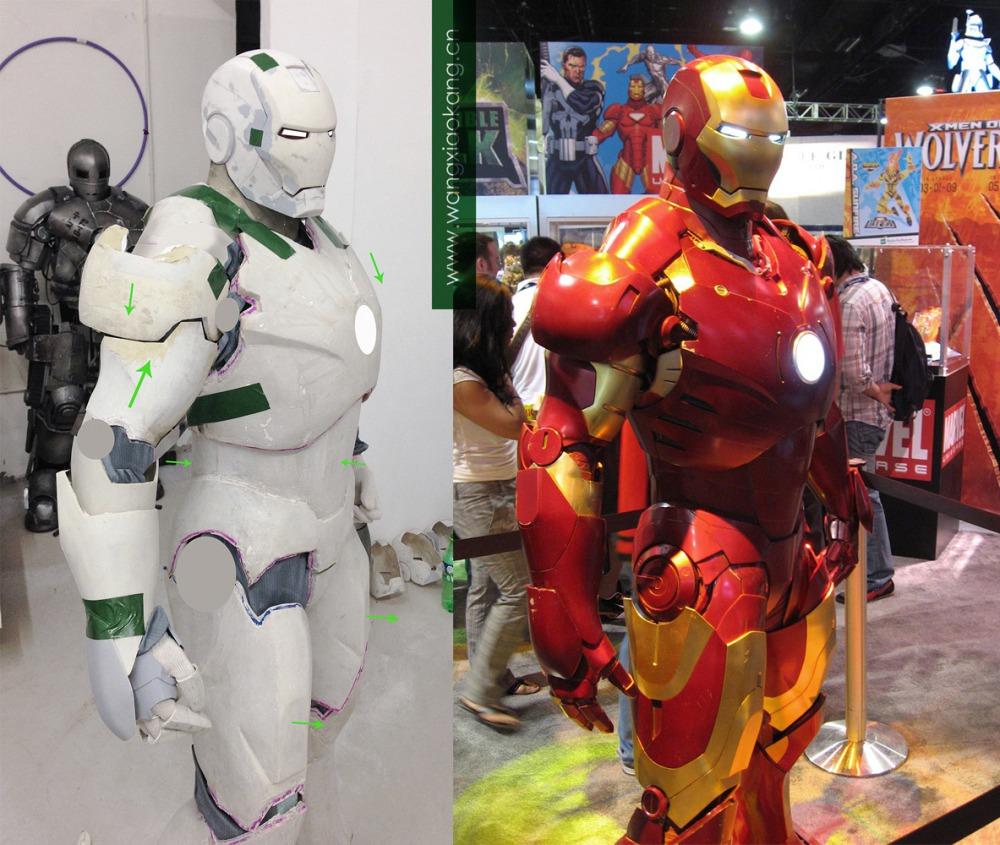 Compra la tuta di iron man da 35mila dollari tom 39 s hardware - Iron man en dessin anime ...