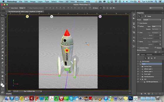 Adobe photoshop cc da oggi serve anche per la stampa 3d for Progetti 3d