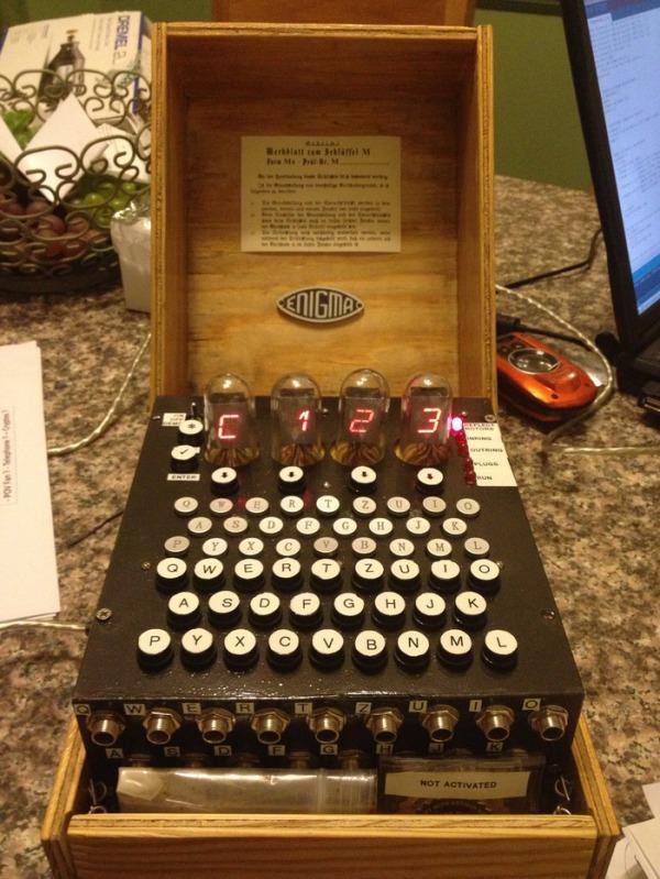 enigma machine replica kit