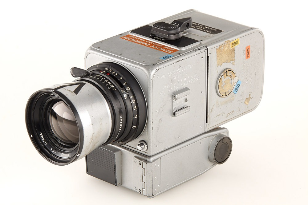 L'Hasselblad 500 dell'Apollo 15 all'asta per 660mila euro