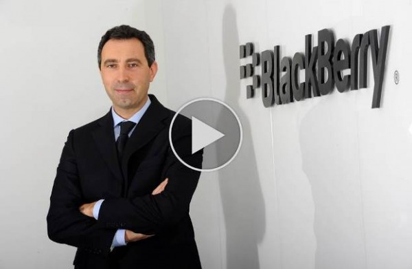 Diego Ghidini, Director Business di BlackBerry