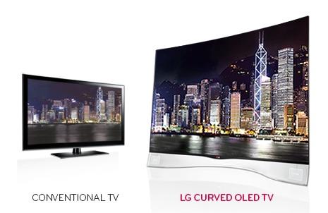 Tv oled lg curvo da 55 pollici a prezzo stracciato tom for Tv 75 pollici prezzo
