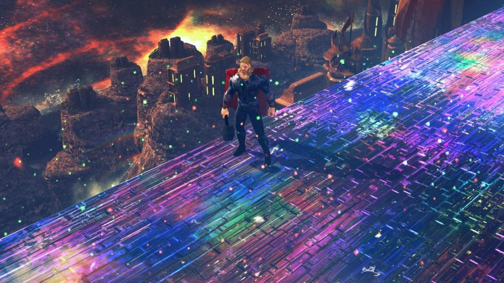 nebula rainbow bridge thor - photo #14