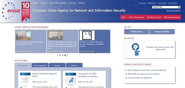 L'Enisa è l'Agenzia che guida la strategia dell'Unione Europea sulla sicurezza dei dati