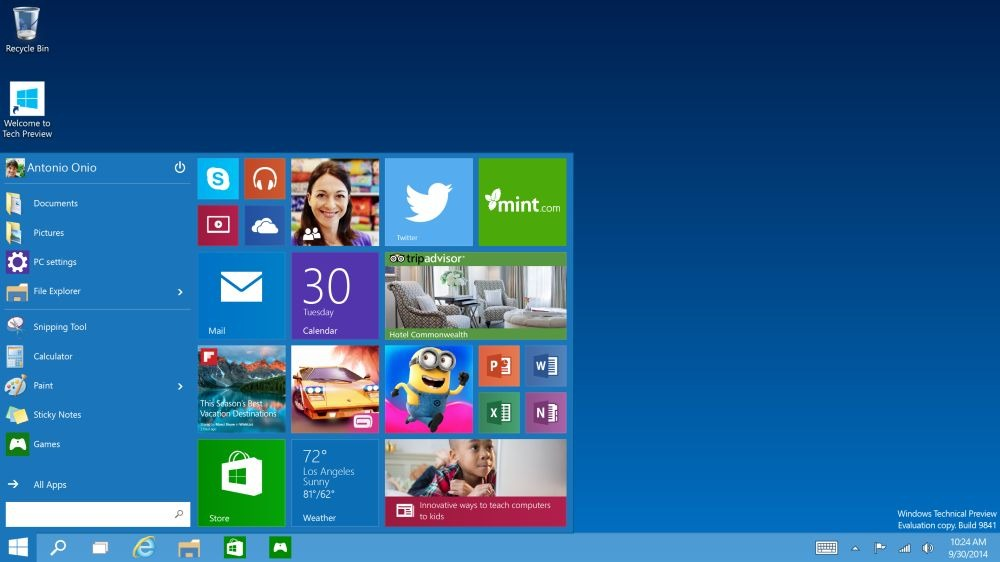 Windows 10 � ufficiale: pronto a met� 2015, le prime novit�