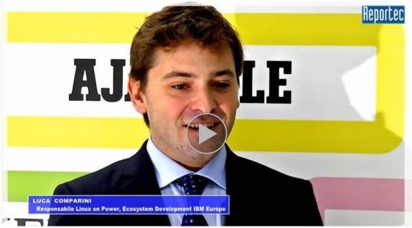 Luca Comparini di IBM intervistato da Reportec