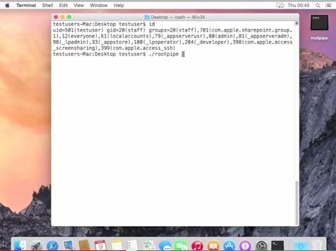 Un ricercatore ha trovato Rootpipe, un bug molto grave in OS X, ma i dettagli saranno pubblicati solo a gennaio.