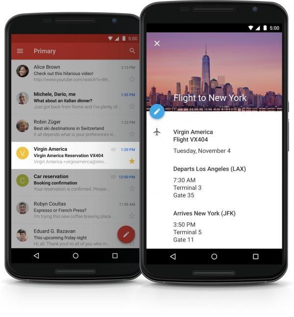 Integrazione fra Gmail e Calendar