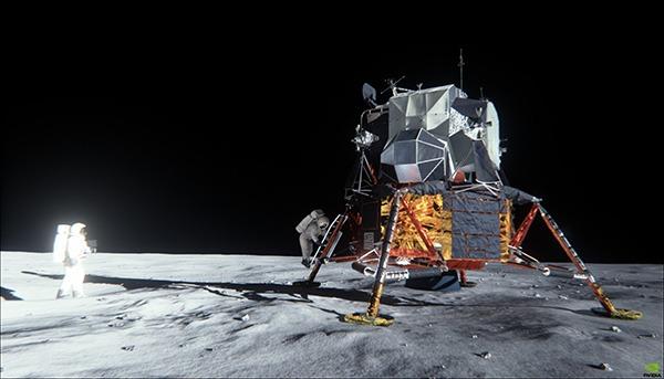 Maxwell Apollo 11 Demo L Allunaggio Sul Vostro Computer
