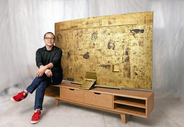 TV samsung oro beneficenza