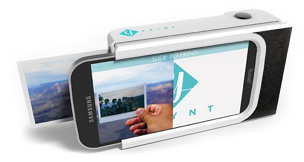 smartphone custodia con stampante