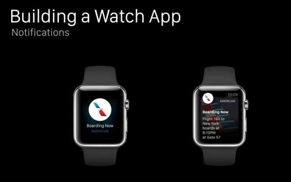 notifiche Apple Watch