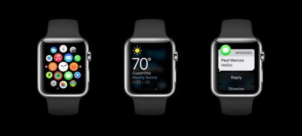 glances Apple Watch
