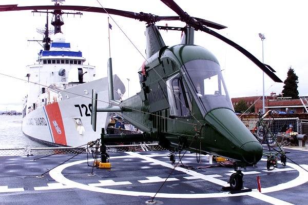 Elicottero Kaman K Max : Elicottero senza pilota e drone per spegnere gli incendi