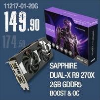 Sapphire Dual-X R9 270X