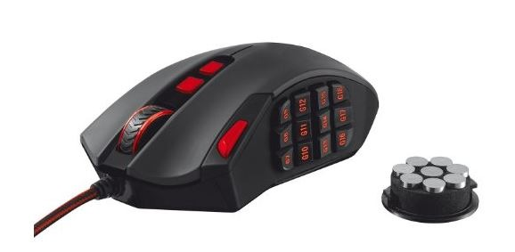 mouse gaming MMO Trust GXT 166