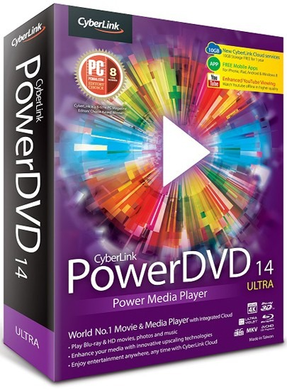 CyberLink PowerDVD 14
