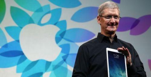 Apple Tim Cook iPad Air 2
