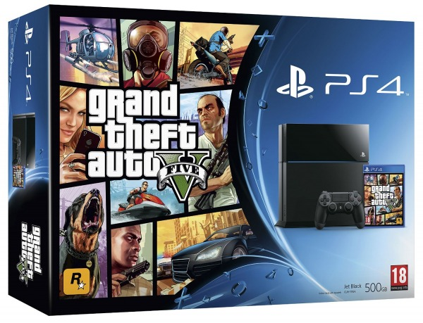 PlayStation 4 + GTAV