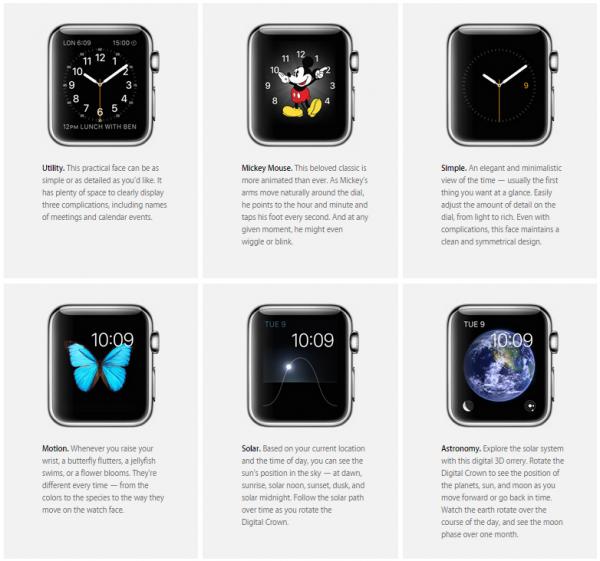 Apple Watch quadranti