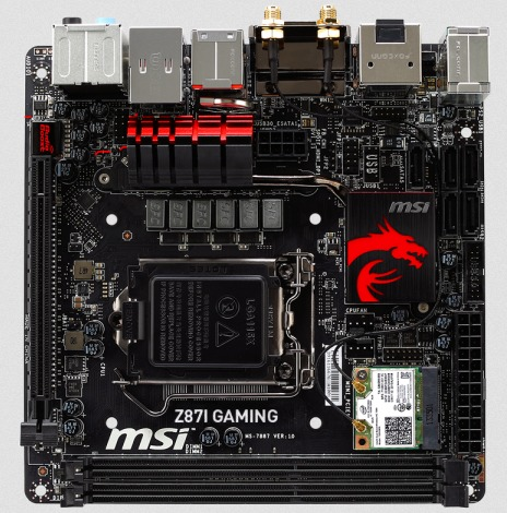 MSI Z87I Gaming