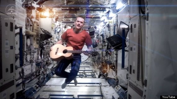 Chris Hadfield sulla ISS