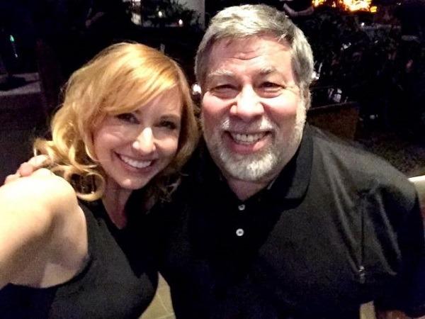 Kary Byron e Steve Wozniak