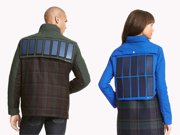 Tommy Hilfiger giacca pannelli solari