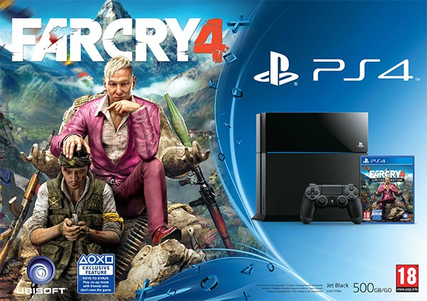 Playstation 4 Far Cry 4 bundle