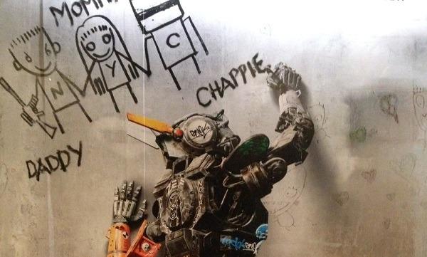 Chappie movie Neill Blomklamp 2015