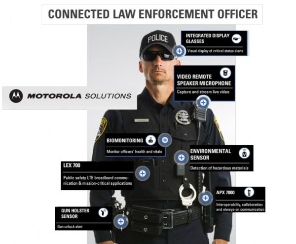 Connected Police Officer