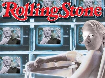 Assange - Rolling Stones