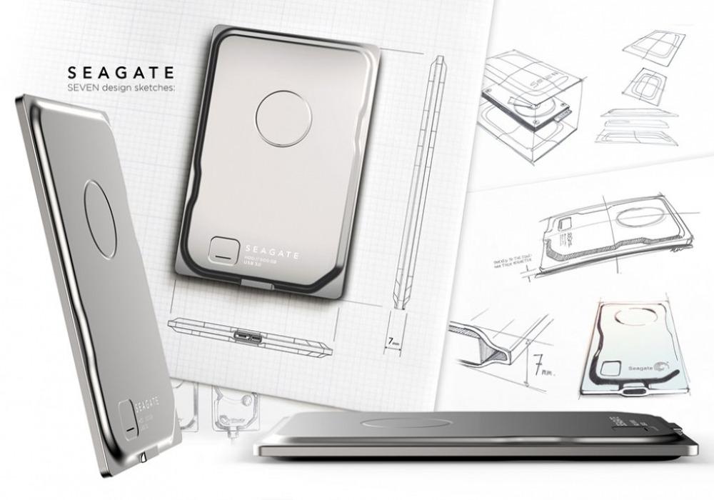 Seagate seven l 39 hdd esterno da 500 gb che misura 7 mm for 500 esterno