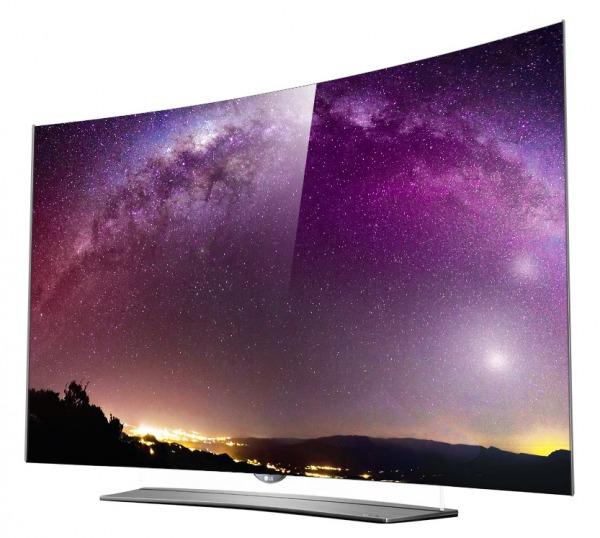 TV oled LG curvo
