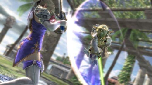 Guerre Stellari in Soul Calibur IV