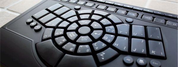 Beeraider Radial Keyboard