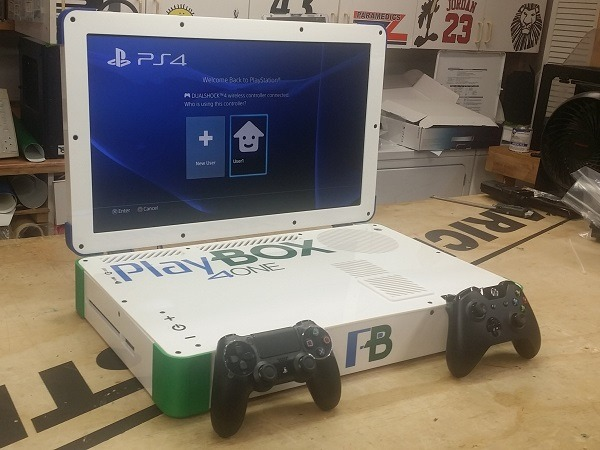 PlayBox: PS4 e Xbox One in un notebook da 22 pollici