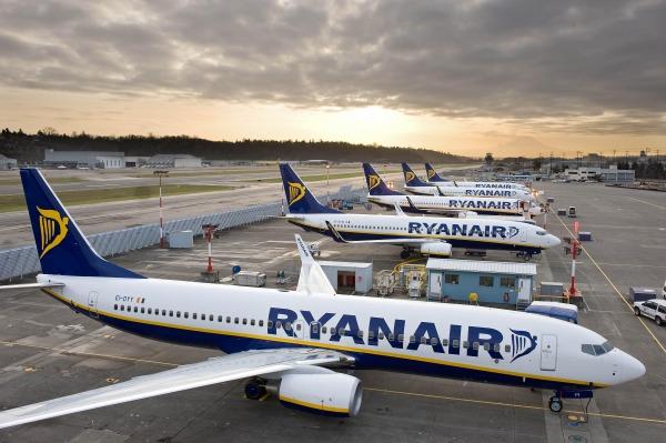 Ryanair aerei