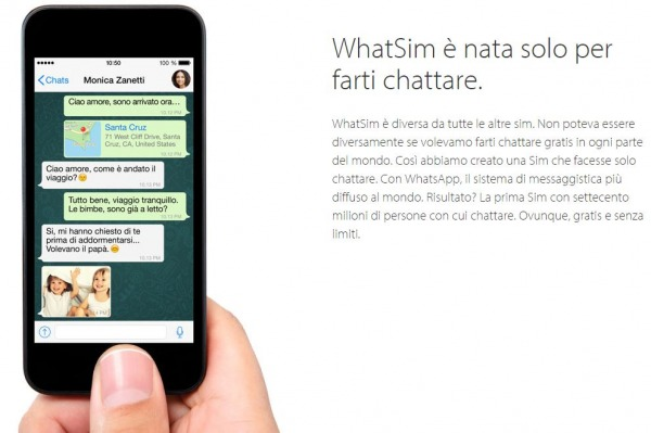 WhatSim sim