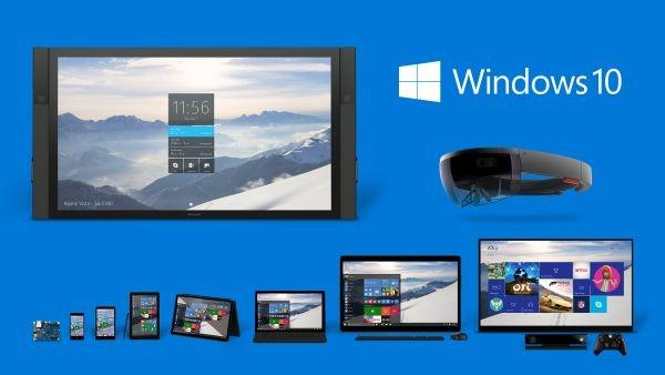 Windows 10 dispositivi