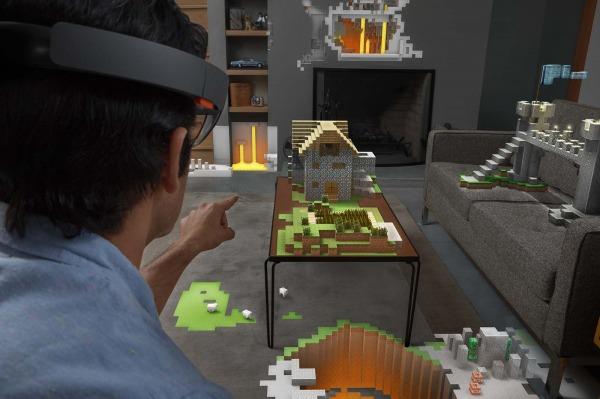 Minecraft  Microsoft HoloLens