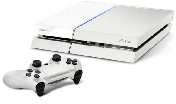 Playstation 4 bianca