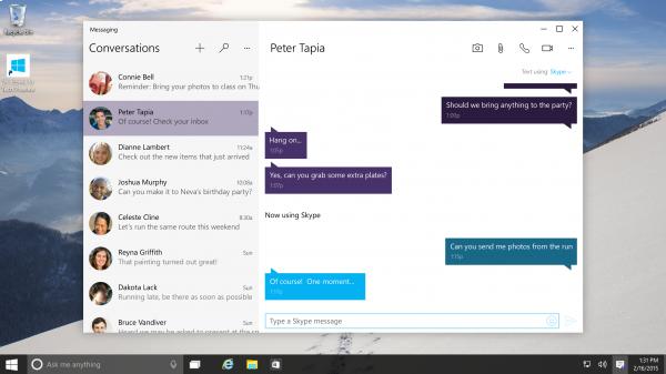 Skype per Windows 10