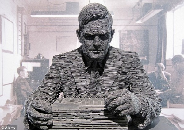 Alan Turing a Bletchley Park