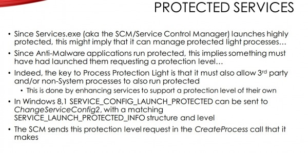 Protected Services