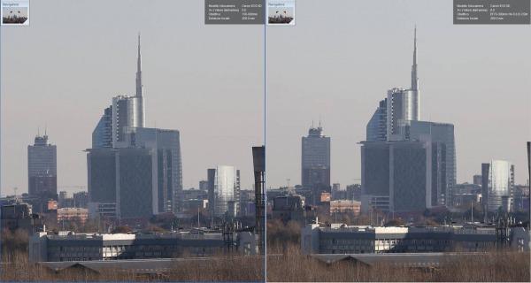 Centro, Sigma vs Canon