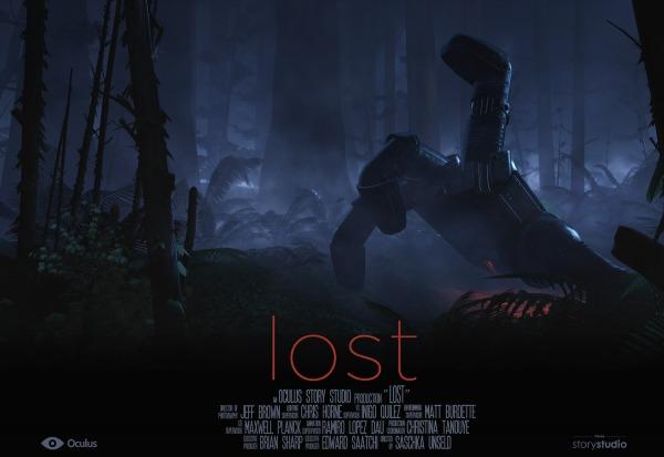 lost oculus rift film